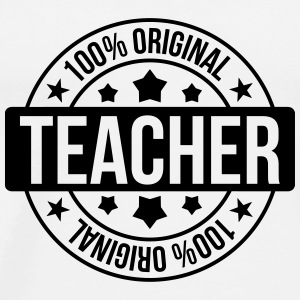 School / Teacher Caps & Hats - Men's Premium T-Shirt