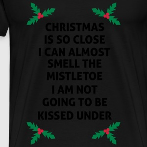 christmas Is So Close I Can Almost Smell ... Long sleeve shirts - Men's Premium T-Shirt