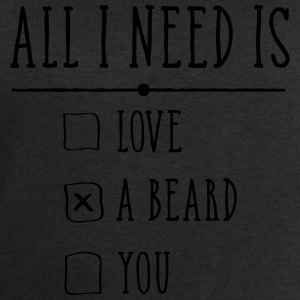 All I Need Is A Beard T-Shirts - Männer Sweatshirt von Stanley & Stella