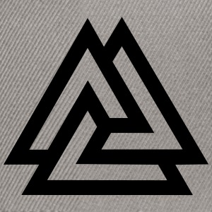 Valknut, Odins Knot, 9 Worlds of Yggdrasil Tee shirts - Casquette snapback