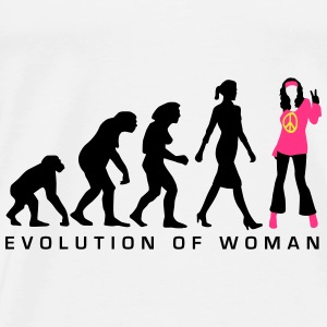 evolution_of_woman_hippie_112014_a_3c Accessoires - Männer Premium T-Shirt