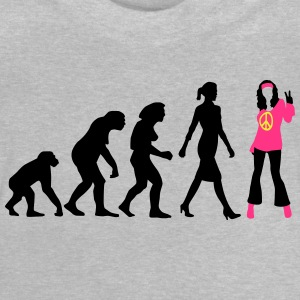 evolution_of_woman_hippie_112014_b_3c T-Shirts - Baby T-Shirt