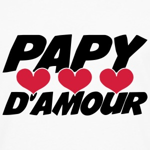 Papy d'amour ! Tee shirts - T-shirt manches longues Premium Homme