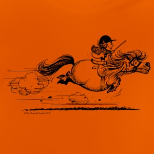 Ponysprint Thelwell cartoon T-shirts - Baby T-shirt