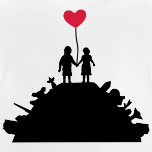 Kids - War and Peace - Love Langarmshirts - Baby T-shirt