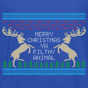 Merry Christmas Ya Filthy Animal T-Shirts - Women's Tank Top by Bella