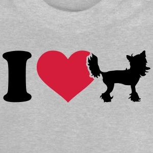 I love Chinese Crested T-Shirts - Baby T-Shirt