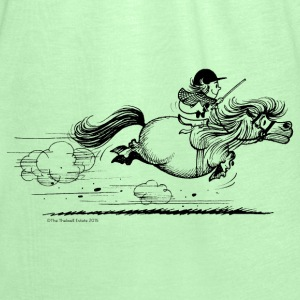 PonySprint Thelwell Cartoon Hoodies - Women's Tank Top by Bella