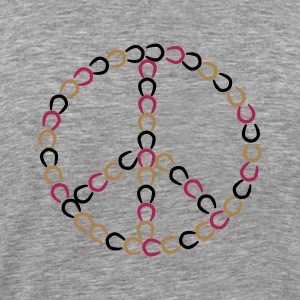 Peace sign - Hester Topper - Premium T-skjorte for menn