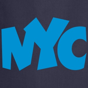 NYC T-Shirt blue - Cooking Apron
