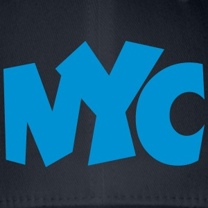 NYC T-Shirt blue - Flexfit Baseball Cap