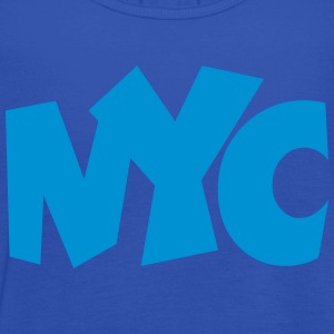 NYC T-Shirt blue - Women's Tank Top by Bella