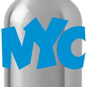 NYC T-Shirt blue - Water Bottle