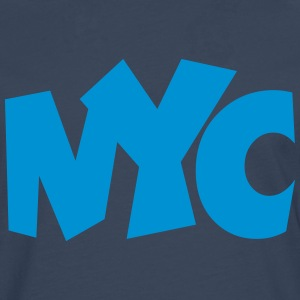 NYC T-Shirt blue - Men's Premium Longsleeve Shirt