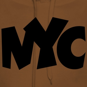 NYC T-Shirt (Men Yellow/Black) - Women's Premium Hoodie
