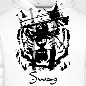 Swag tiger T-Shirts - Men's Premium Hoodie