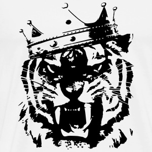 Tiger king Sweatshirts - Herre premium T-shirt