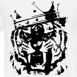 Tiger king Sweaters - Mannen Premium T-shirt