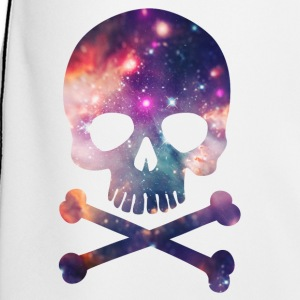 Pink / Purple Universe - Space - Galaxy Skull Hoodies - Men's Football shorts