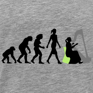 evolution_female_harp_player_112014_c_3c Accessoires - Männer Premium T-Shirt