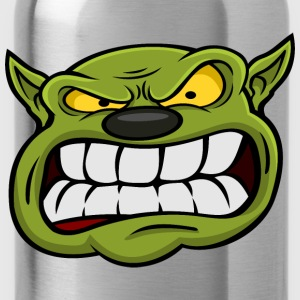 Orc Mascot Head T-Shirts - Water Bottle
