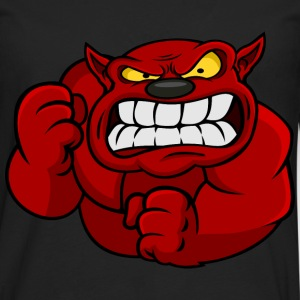Red Orc Mascot T-Shirts - Men's Premium Longsleeve Shirt