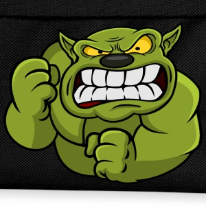 Green Orc Mascot Shirts - Kids' Backpack