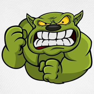 Green Orc Mascot Mugs & Drinkware - Baseball Cap