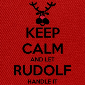 keep_calm_and_let_rudolf_handle_it_2c_bi Pullover  - Snapback Cap