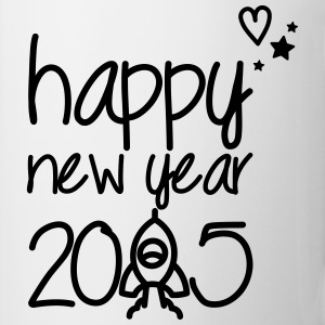Happy new year 2015 Toppar - Mugg