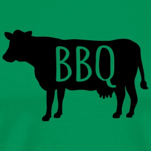 Barbecue  Aprons - Men's Premium T-Shirt
