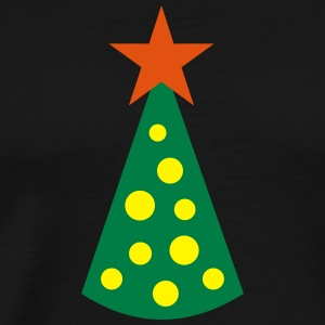 Christmas tree Long Sleeve Shirts - Men's Premium T-Shirt