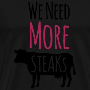 Steak Long Sleeve Shirts - Men's Premium T-Shirt