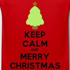 keep calm and merry chris T-paidat - Miesten premium hihaton paita