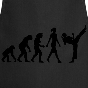 evolution_female_martial_art_112014_a_1c T-Shirts - Kochschürze
