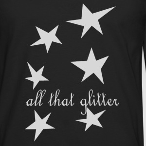 (all that glitter) T-Shirts - Männer Premium Langarmshirt