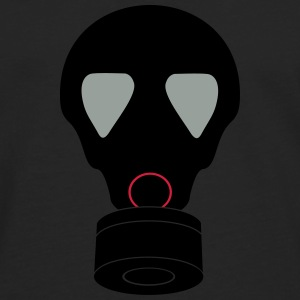 gas mask_vec_3 en T-Shirts - Men's Premium Longsleeve Shirt