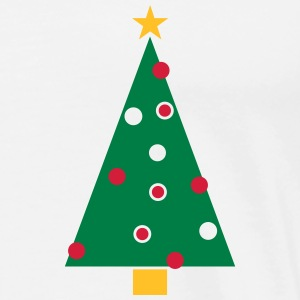 Weihnachtsbaum, Christbaum Polo Shirts - Men's Premium T-Shirt