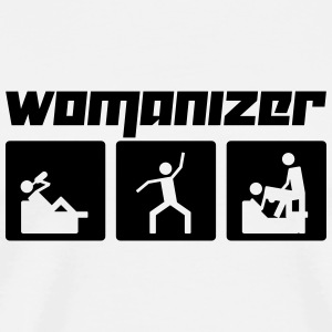 Womanizer (Vector) - Men's Premium T-Shirt