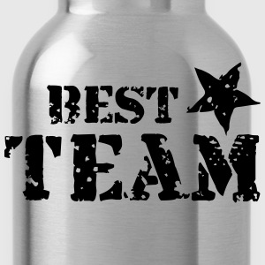 Best Team, Star, Champions, Sports, Winner, Club - Water Bottle