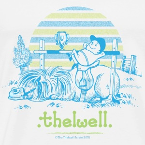 PonySeier Thelwell Cartoon Gensere - Premium T-skjorte for menn