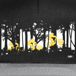 forest jump  Magliette - Snapback Cap