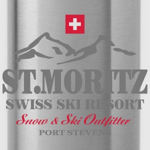 St.Moritz - Ski - Apres - Alpes Sweat-shirts - Gourde