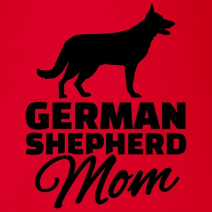 German Shepherd Mom T-Shirts - Baby Bio-Kurzarm-Body