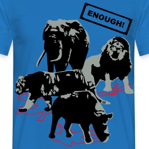 Wildlife - Enough  - Men's T-Shirt