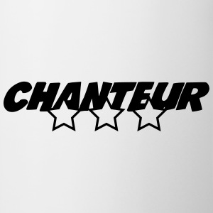 Chanteur Tee shirts - Tasse