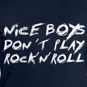 Nice Boys Don´t Play Rock´n´Roll - Adult T-Shirts - Men's Sweatshirt by Stanley & Stella