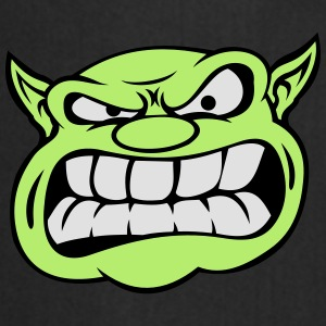 Angry Orc Mascot Head Accessories - Cooking Apron