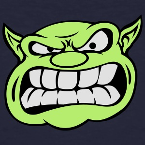 Angry Orc Mascot Head Accessories - Men's Organic T-shirt