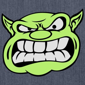 Angry Orc Mascot Head Accessories - Shoulder Bag made from recycled material